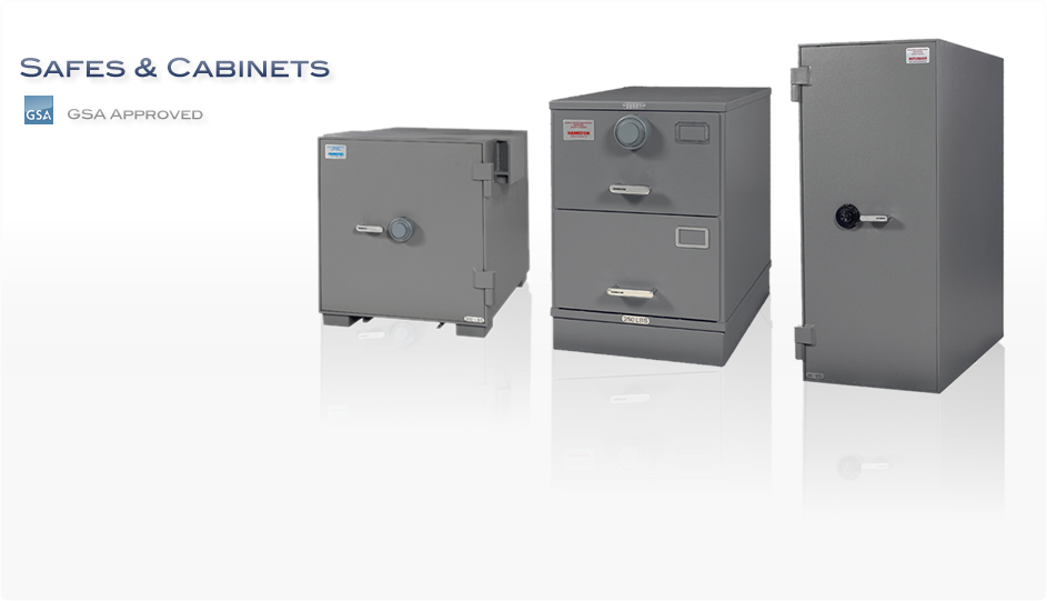 GSA Approved Safes and Cabinets